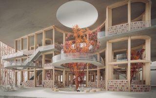 The Brain una biblioteca diseñada para conectar con las personas