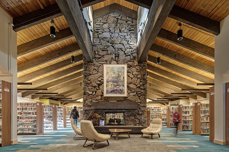The Community Library in Ketchum, Idaho