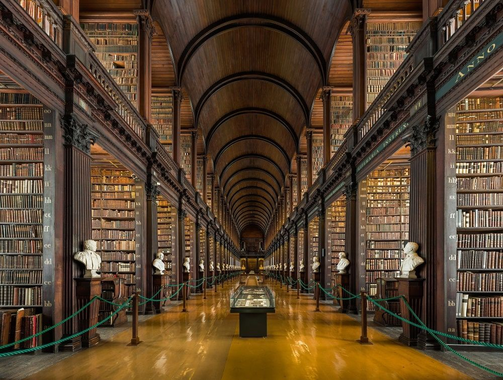 The Old Library Trinity College. CC Diliff