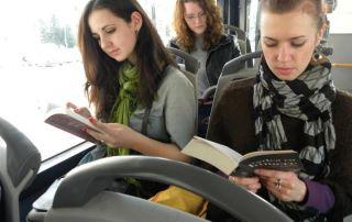Transporte gratis para lectores el Cluj Napoca