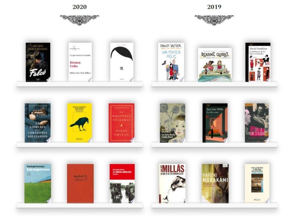Zeneca estanterías red social libros lectura