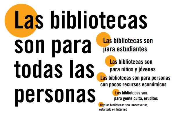 Las bibliotecas son para todas las personas