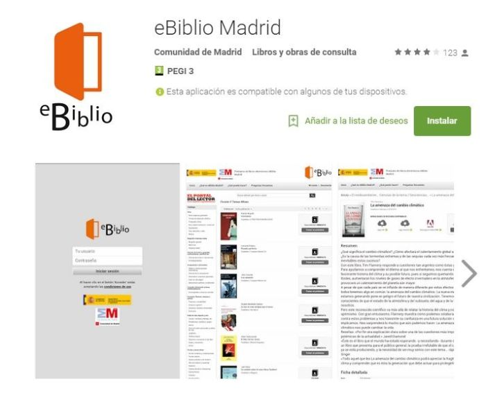 eBiblio Madrid