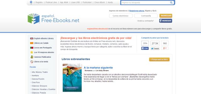 18 Sitios Para Descargarte Libros Electrónicos Gratis Y