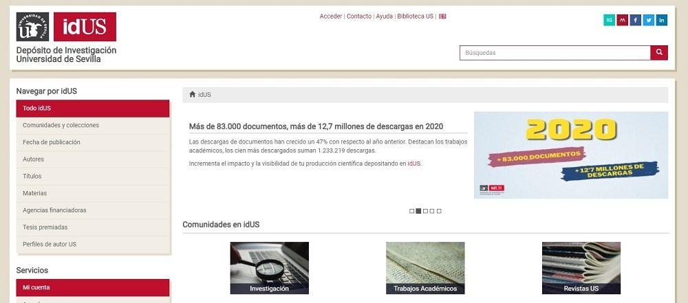 idUS - Depósito de Investigación Universidad de Sevilla