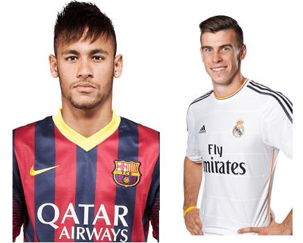 Neymar y Bale