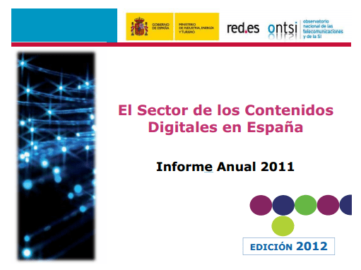 Presentación del Informe Anual de los Contenidos Digitales en España (Edición 2012)
