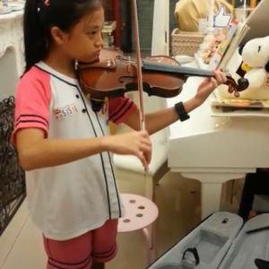 林秉蓁_每天都要拉小提琴