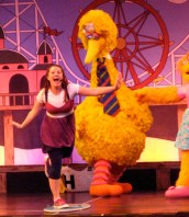 Jamie-Big Bird's Beach Party-SeaWorld, San Antonio