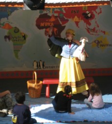 Mother Goose-Storytime-Busch Gardens, Williamsburg