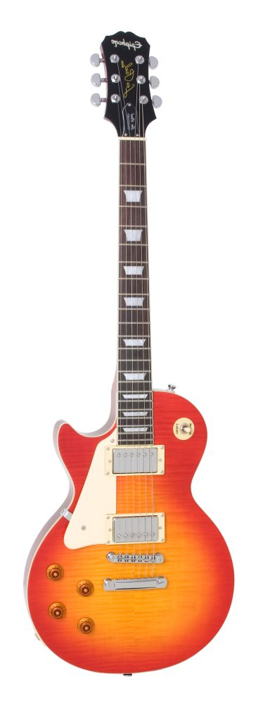 Left-Handed Epiphone Les Paul Standard Plus Model