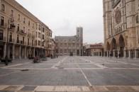 León. Plaza de la catedral