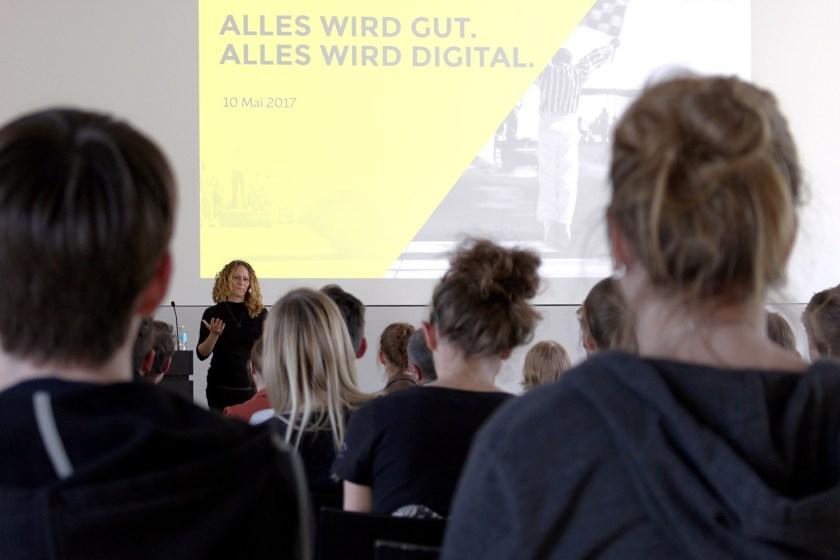 Vortrag an meiner alten Hochschule für Gestaltung Schwäbisch Gmünd, in der Reihe »Mittwochsseminar«