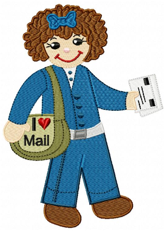 Rosie The Mail Carrier