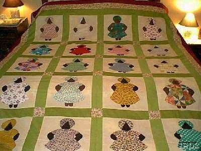 Aunt Jemima Quilt Pattern Page 1 Of 1