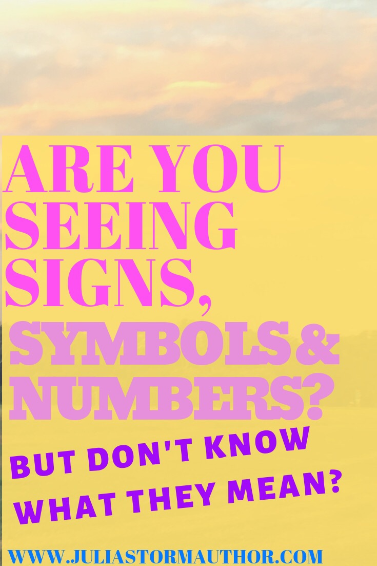 SIGNS FROM THE UNIVERSE OR LOA MANIFESTATION COACHING - Julia Storm
