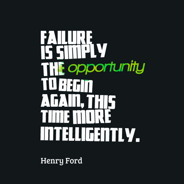 failure quote Henry Ford