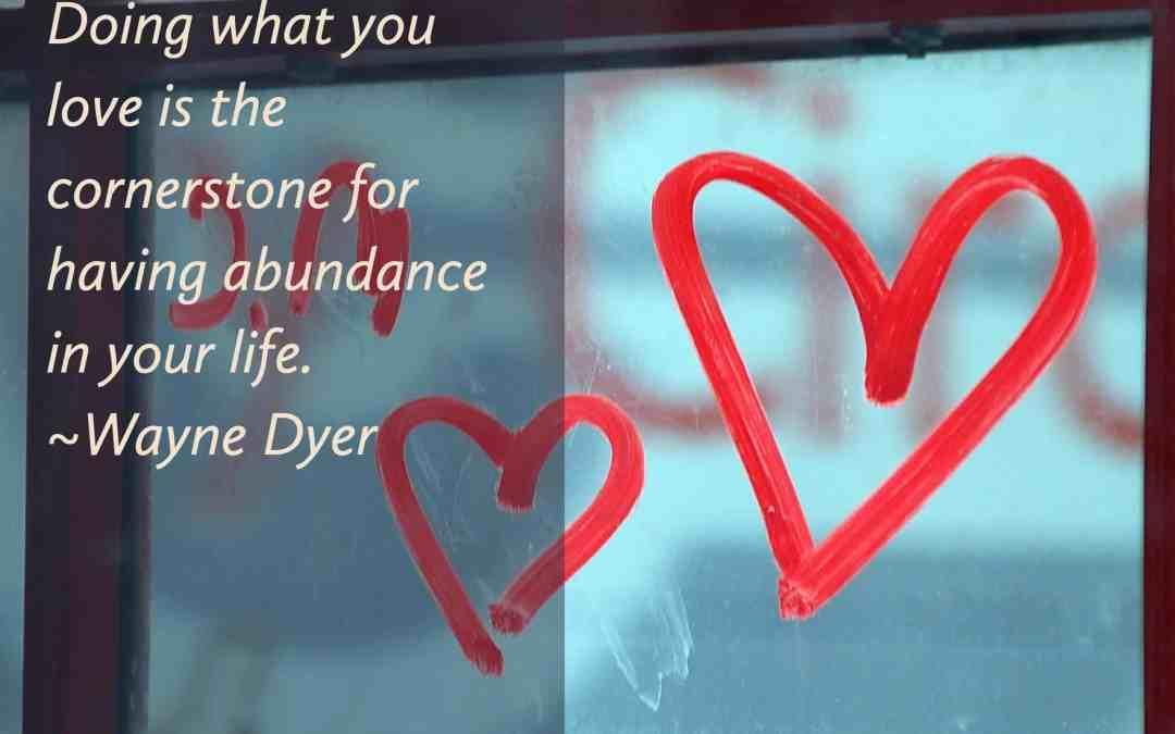 Choosing Abundance in 2017