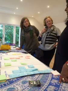 Sharing our work, making a difference (photo credit to Jane Moss)