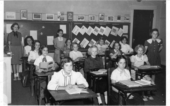 Intermediate II, Class Portrait, Class Of 1959. 1953 Torch