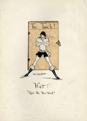 Illustration, 1928 Torch