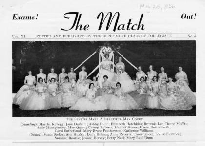 May Court in The Match, May 25, 1956