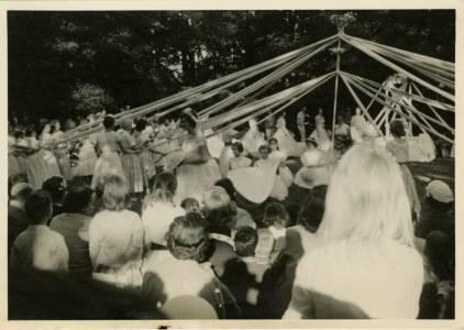 May Day Maypole, 1958