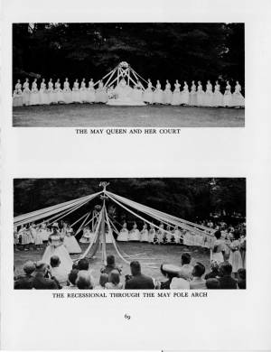 """May Day at Collegiate"" in the1959 Torch, p.69"