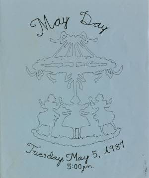 May Day Program, 1987