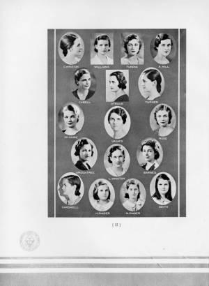 Torch Staff, 1932 Torch