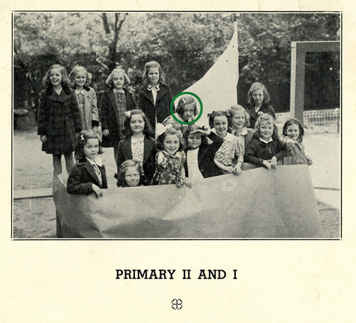 Helen, in Primary 1, Setting Sail on Her Collegiate Journey