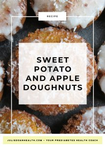 sweet potato donut doughnut