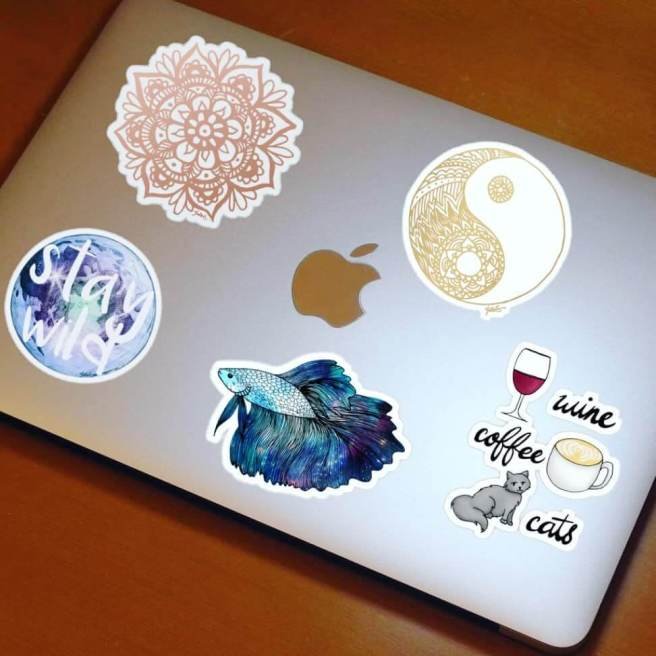 redbubble stickers by julie erin designs