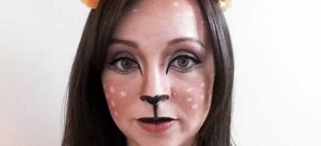 diy deer halloween costume