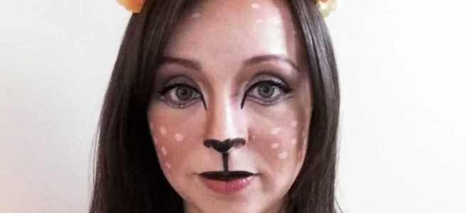 diy deer halloween costume