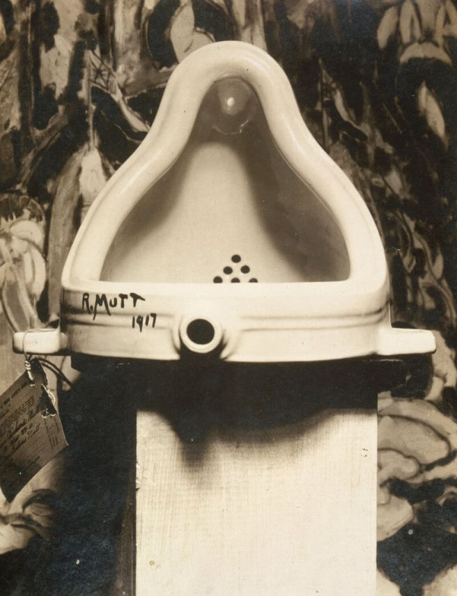 Marcel Duchamp Fountain 1917