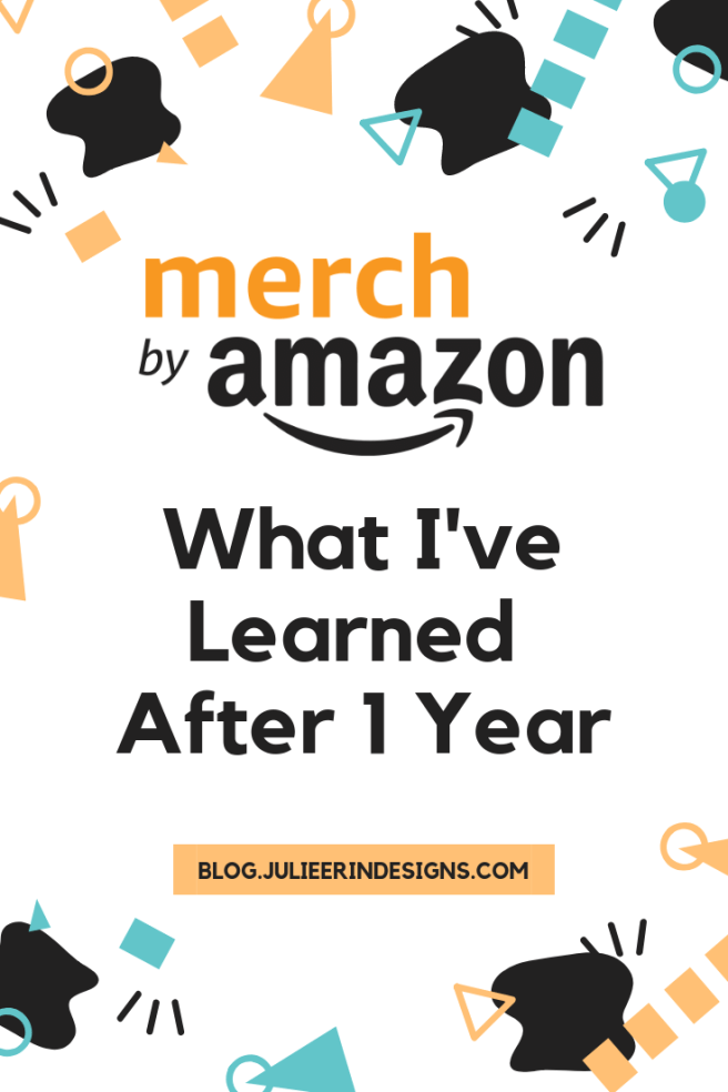 what I've learned after 1 year of merch by amazon