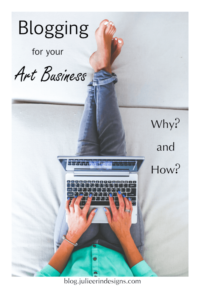 how to blog for your art business