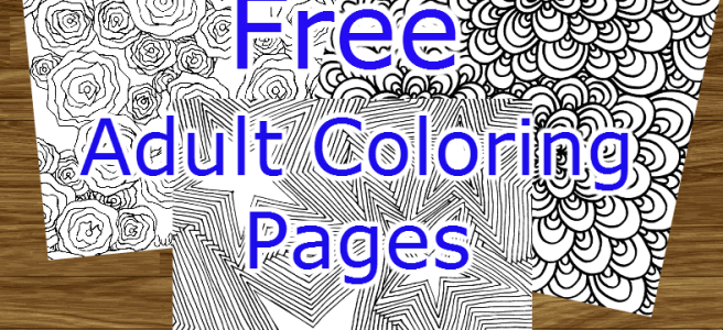 free adult colouring pages