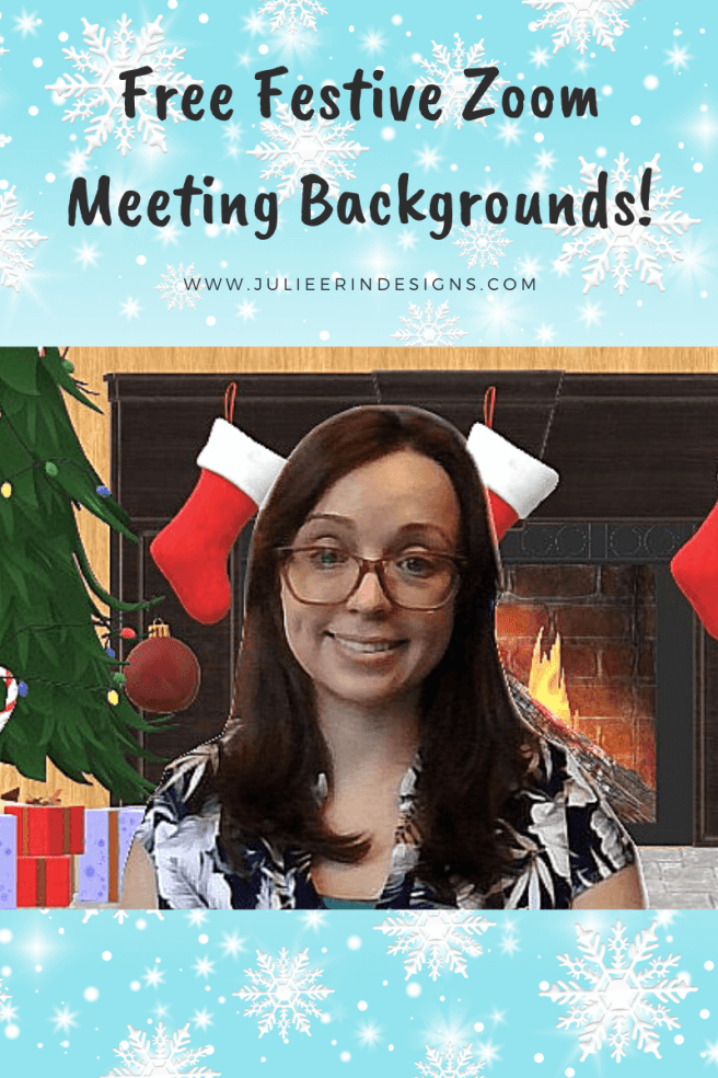 christmas backgrounds free teams meeting