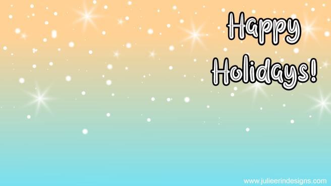 happy holidays festive meeting background