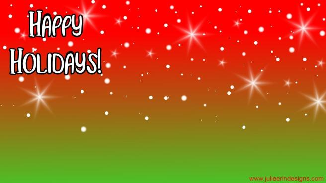 happy holidays red green simple christmas teams holiday background