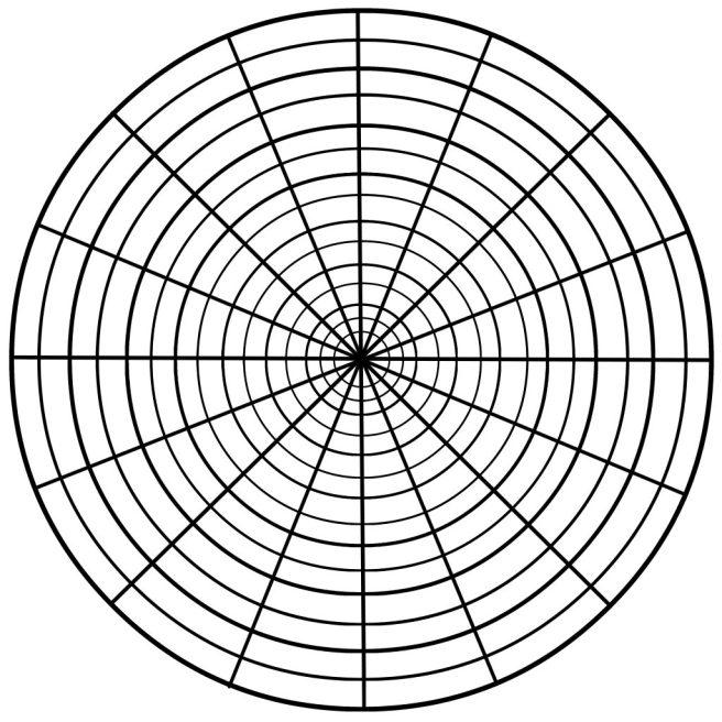 complex mandala drawing template