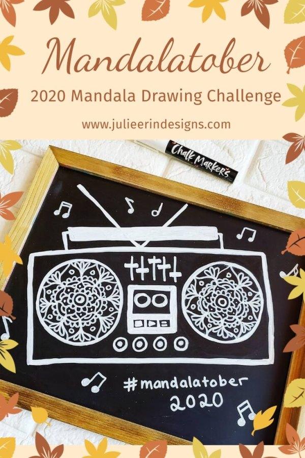 mandalatober 2020 mandala drawing challenge