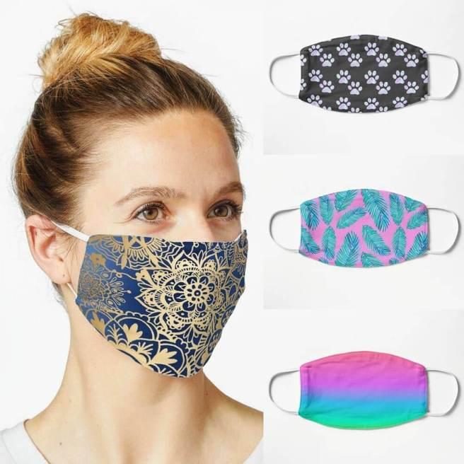 face masks cute patterns Redbubble