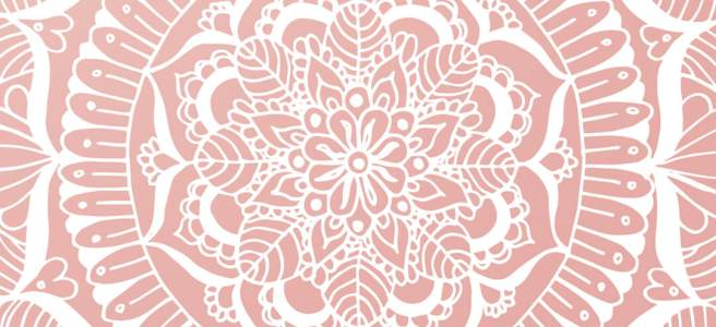 phone wallpaper mandalas art pink