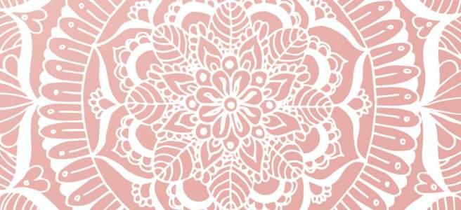 phone wallpaper mandalas art pink