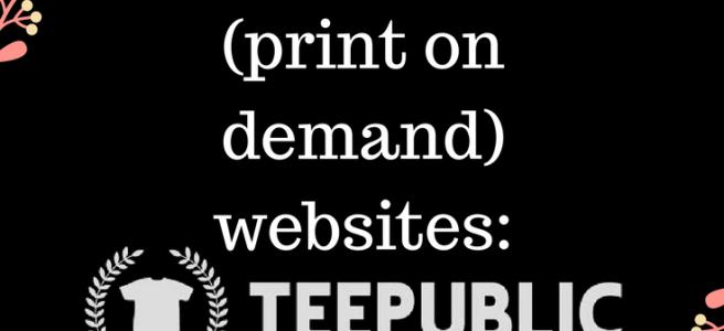 selling art online teepublic