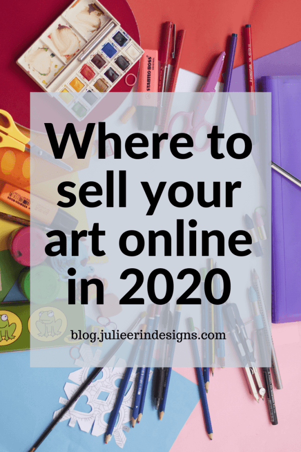 where to sell art online 2020