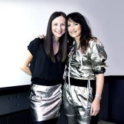 Julie with KT Tunstall